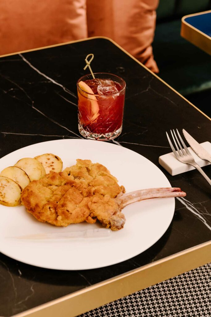 Clotilde-Brera-Mixology-e-cucina-cotoletta-americano-cocktail