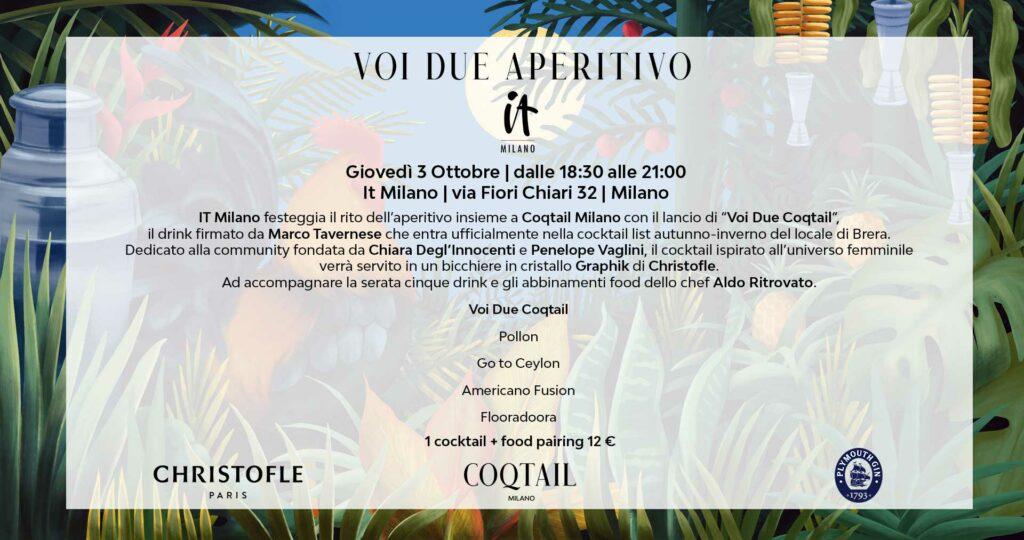 Flyer-Voi-Due-Aperitivo-Coqtail-Milano-IT-Milano-Christofle