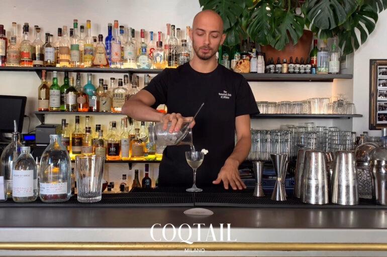 TNT cocktail di Roberto Rossi The Botanical Club