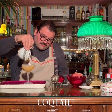 Pepe cocktail Yuri Gelmini Surfers Garden Coqtail Milano