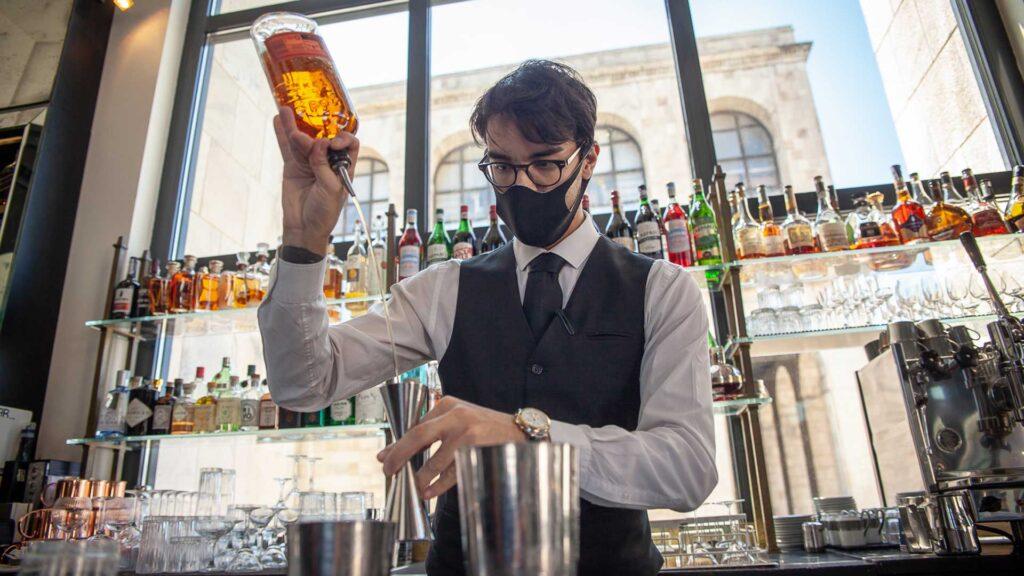 Cocktail-bar-allaperto-Milano-Giacomo-Arengario-Coqtail-Milano