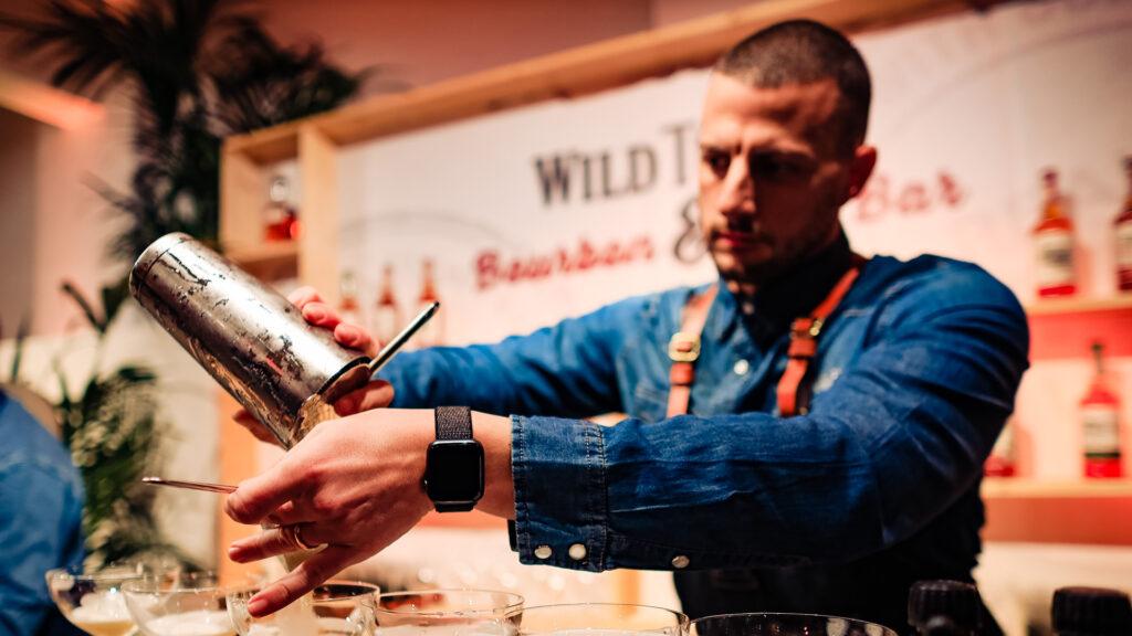 Aldo Bruno Russo Brand Ambassador Wild Turkey Coqtail Milano