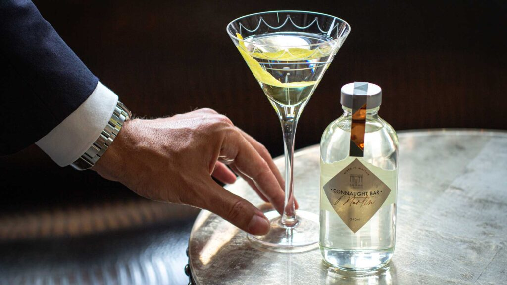 Bottled-Martini-Formae-drink-list-Connaugth-Bar-Coqtail-Milano