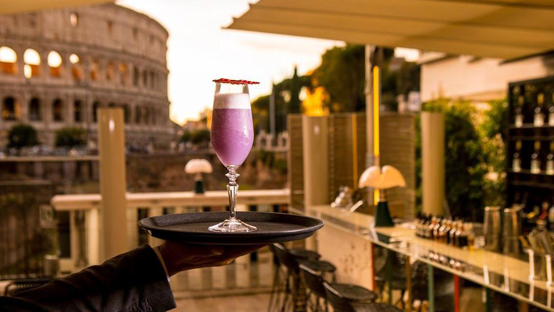 Drink list dedicata a Roma The Court