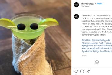Perchè Baby Yoda è diventato un cocktail virale su Instagram Coqtail Milano