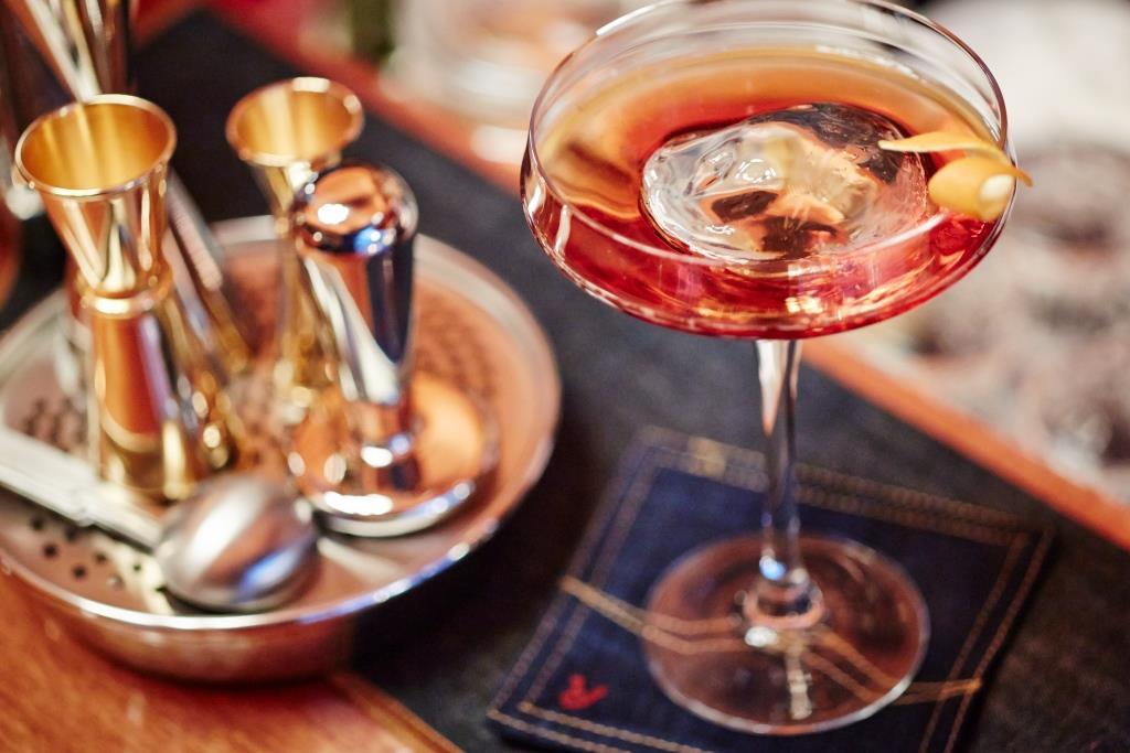 Raffinato cocktail Francesco Cione