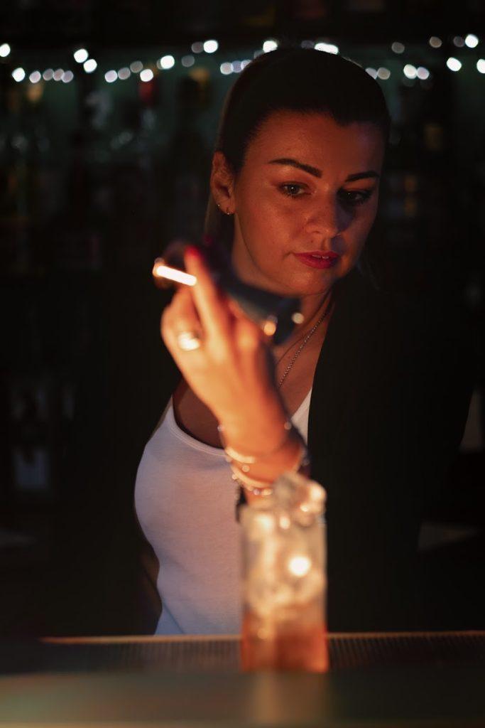 Erica Rossi cocktail per Coco Chanel 50 anni dalla morte Coqtail Milano