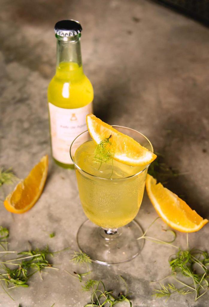 bar 100% sostenibile Paradiso kefir arancio
