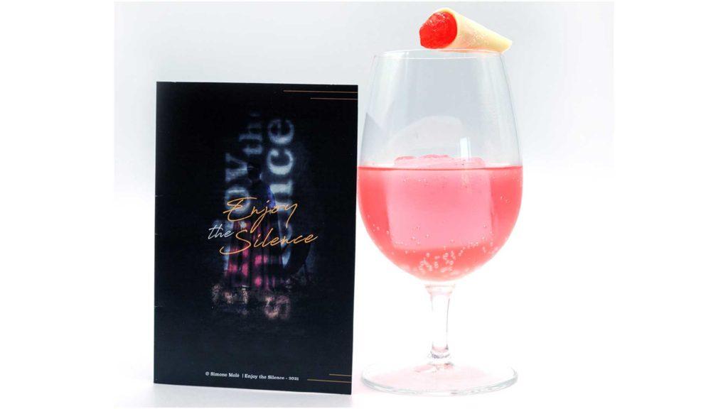 cocktail-a-base-gin-Simone-Molè-Enjoy-the-Silence-Coqtail-Milano