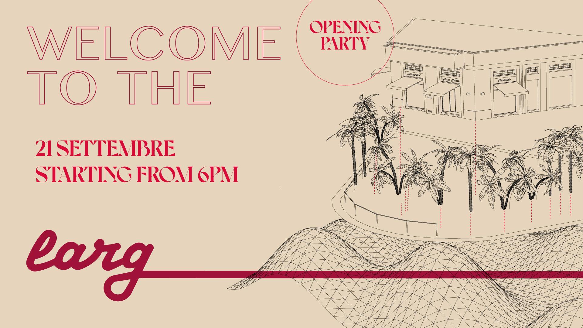 Larg_o cocktail bar inaugura a Milano 21 settembre 2021 Coqtail Milano