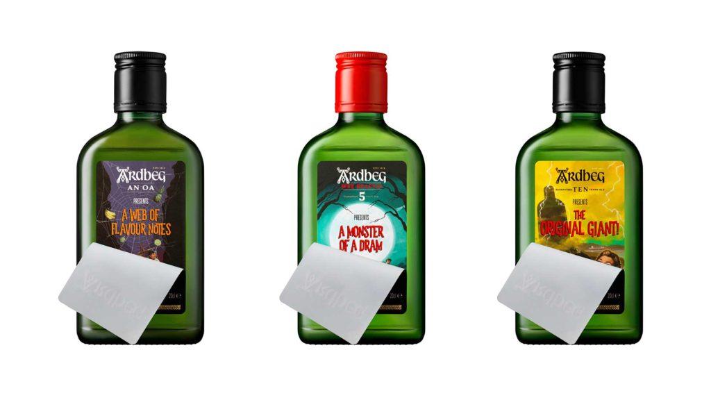 Ardbeg-Monsters-of-smoke-3-bottiglie-scotch-whisky-Coqtail-Milano