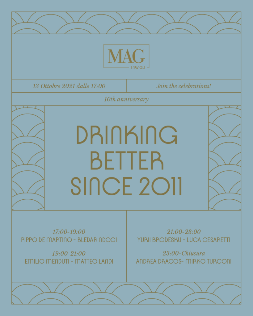 Mag 10 years Coqtail Milano